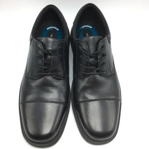 Nunn Bush Jordan Cap Toe Oxfords Black